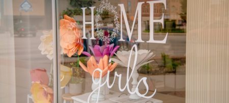Home Girls storefront in Jacksonville Illinois