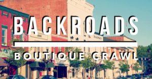 backroads boutique crawl 2021 logo